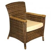 кресло-1002 с подушкой,тик,цвет-см.фото (62,5*68*86)